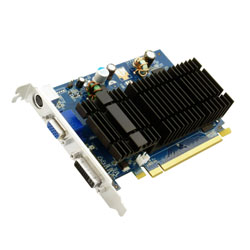 Sparkle nVIDIA GeForce 8400GS 512MB PCIe DDR2 VGA DVI HDTV Passive Graphic Card
