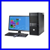PC Sales - supply, install, migrate, upgrade -  Desktop PC's, workstations, all in one PC's from all major manufacturers as well as custom builds, supported operating systems Windows 10, Apple Mac's, Linux, Chrome and Android Crawley West Sussex and Surrey